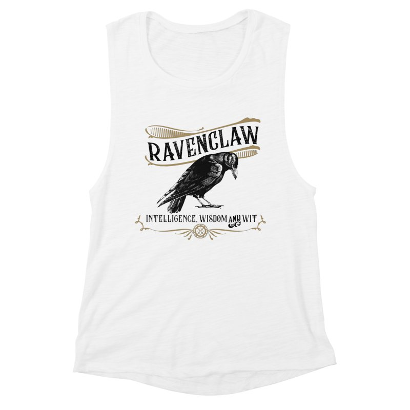 House of Ravenclaw Women's Muscle Tank by Wicked and Wonder