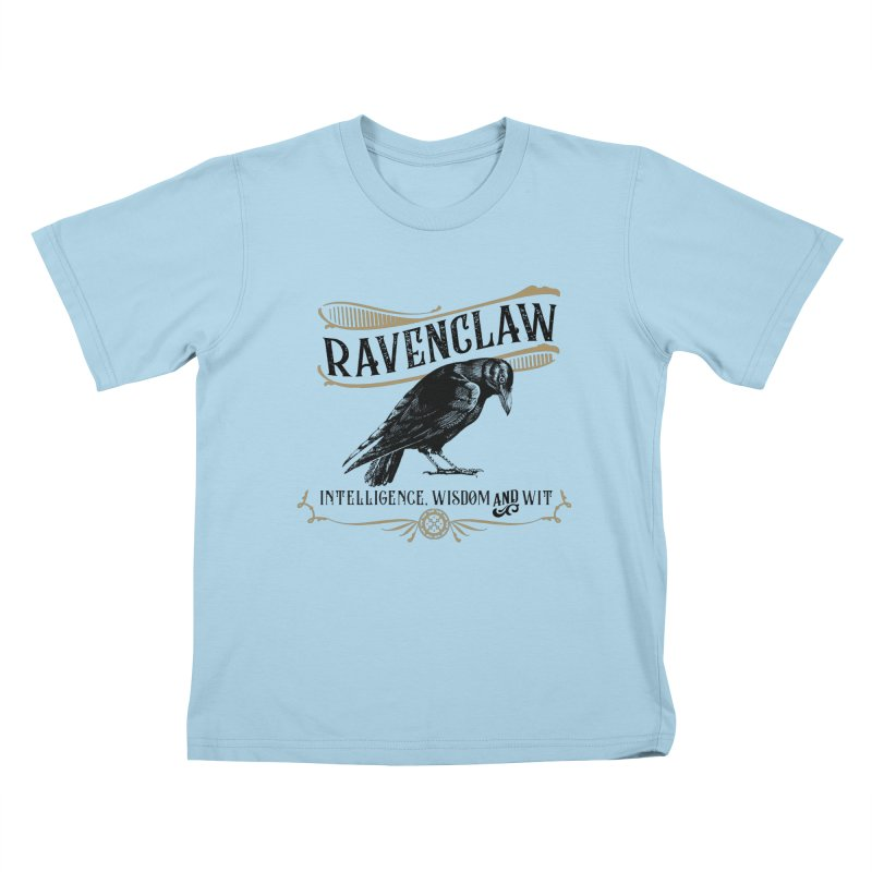 House of Ravenclaw Kids T-Shirt by Wicked and Wonder