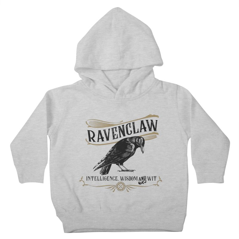House of Ravenclaw Kids Toddler Pullover Hoody by Wicked and Wonder