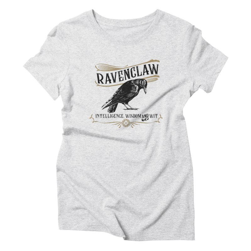 House of Ravenclaw Women's Triblend T-Shirt by Wicked and Wonder