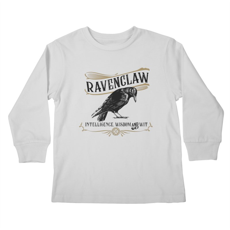 House of Ravenclaw Kids Longsleeve T-Shirt by Wicked and Wonder