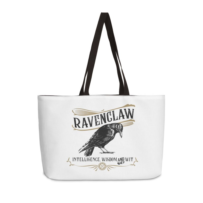 House of Ravenclaw Accessories Weekender Bag Bag by Wicked and Wonder