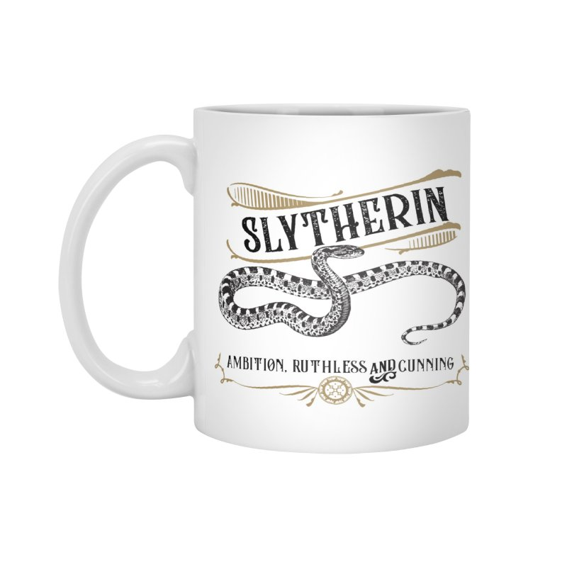 House of Slytherin Accessories Mug by Wicked and Wonder