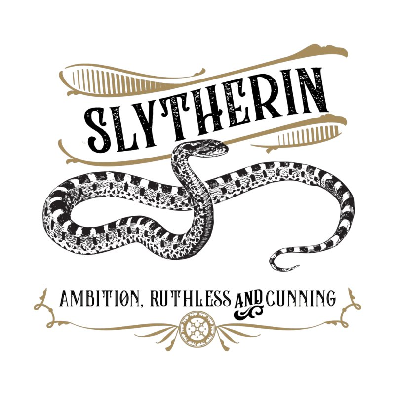 House of Slytherin Men's Longsleeve T-Shirt by Wicked and Wonder