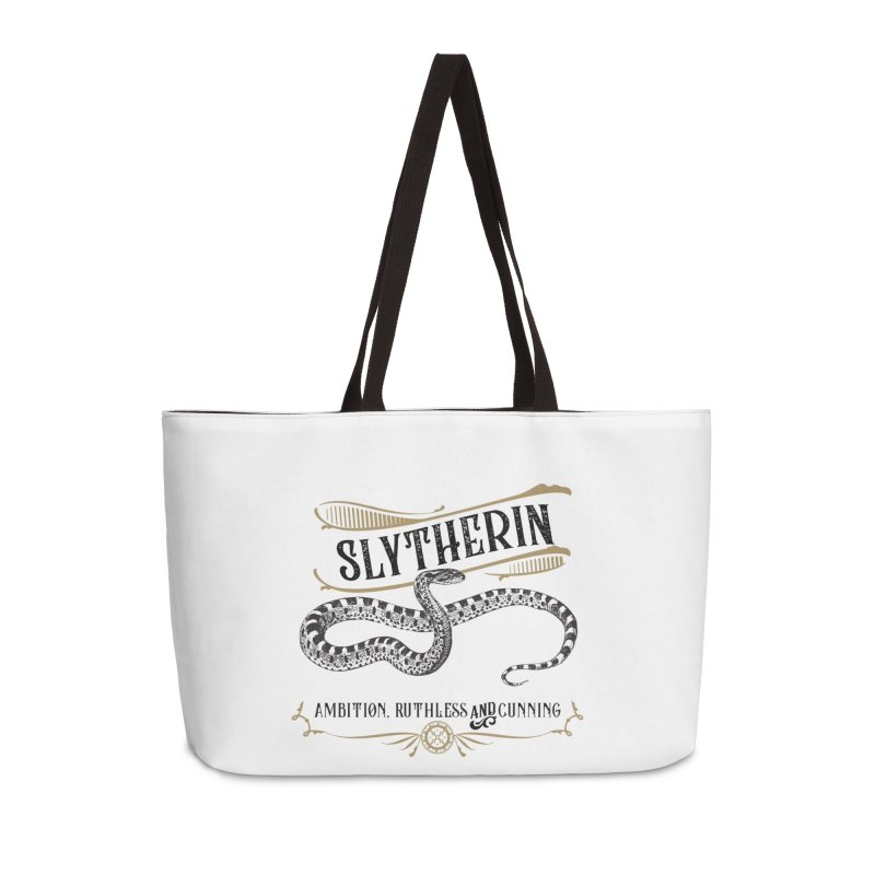 House of Slytherin Accessories Weekender Bag Bag by Wicked and Wonder