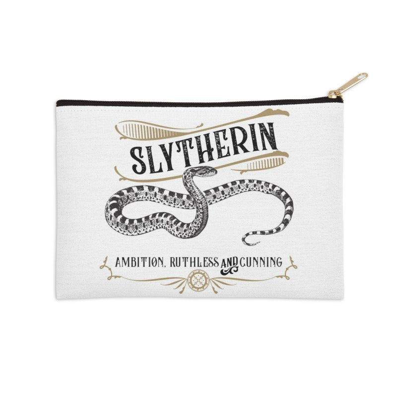 House of Slytherin Accessories Zip Pouch by Wicked and Wonder