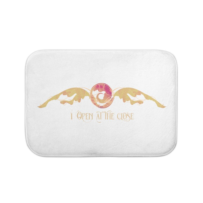 I Open at the Close Home Bath Mat by Wicked and Wonder