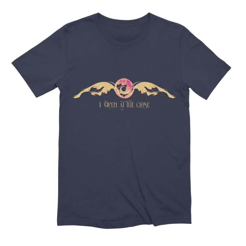 I Open at the Close Men's Extra Soft T-Shirt by Wicked and Wonder