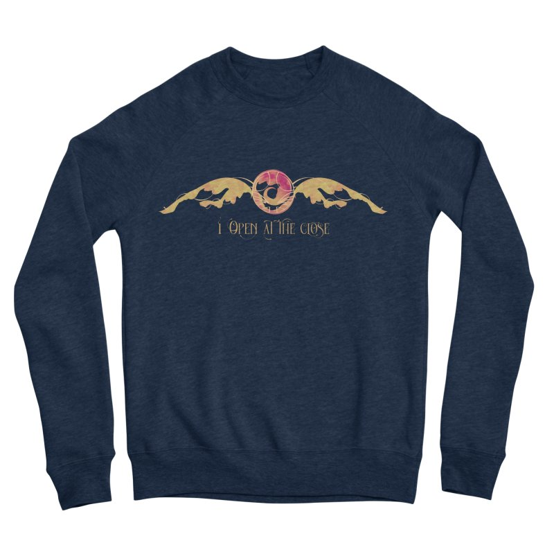 I Open at the Close Men's Sweatshirt by Wicked and Wonder