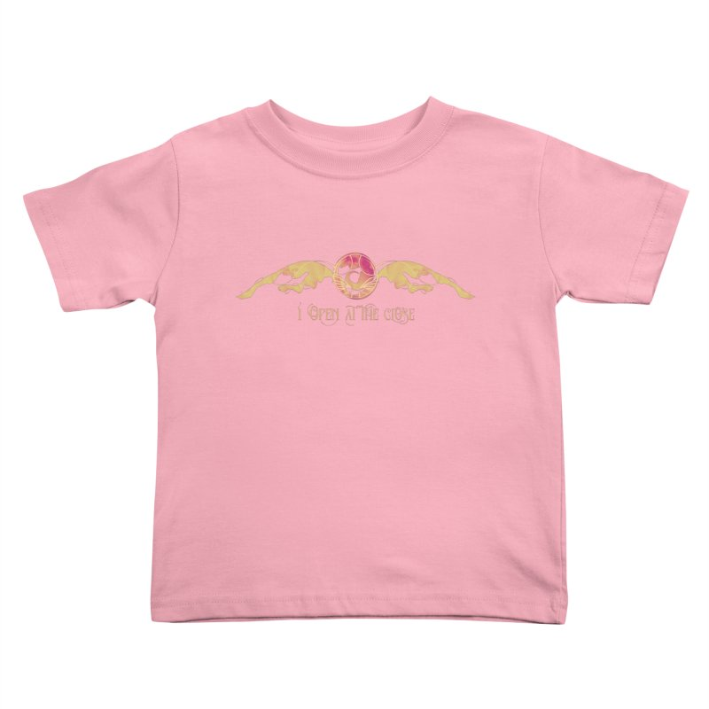 I Open at the Close Kids Toddler T-Shirt by Wicked and Wonder