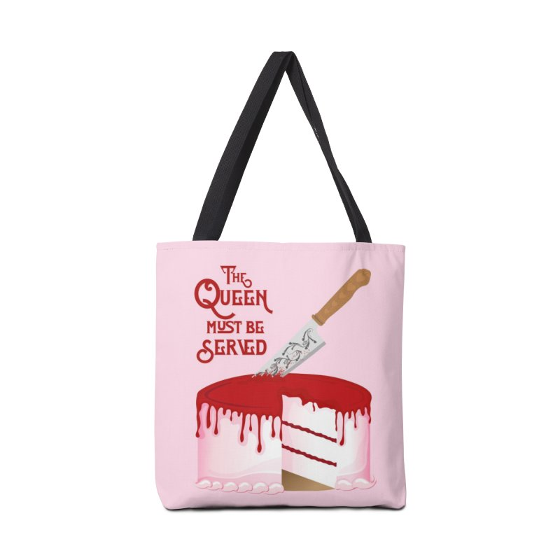 The Queen Must be Served Accessories Tote Bag Bag by Wicked and Wonder