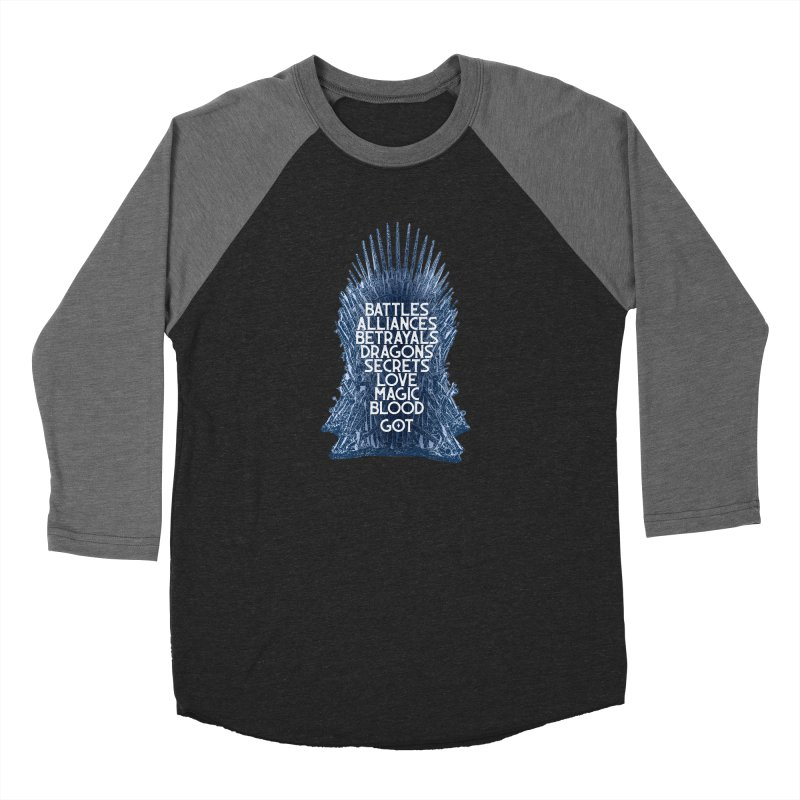GOT - An Epic Remembered Women's Baseball Triblend Longsleeve T-Shirt by Wicked and Wonder