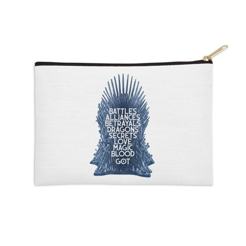 GOT - An Epic Remembered Accessories Zip Pouch by Wicked and Wonder