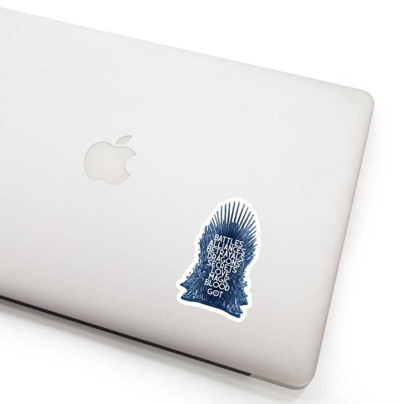 GOT - An Epic Remembered Accessories Sticker by Wicked and Wonder