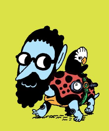 mumblethief moon comics Logo