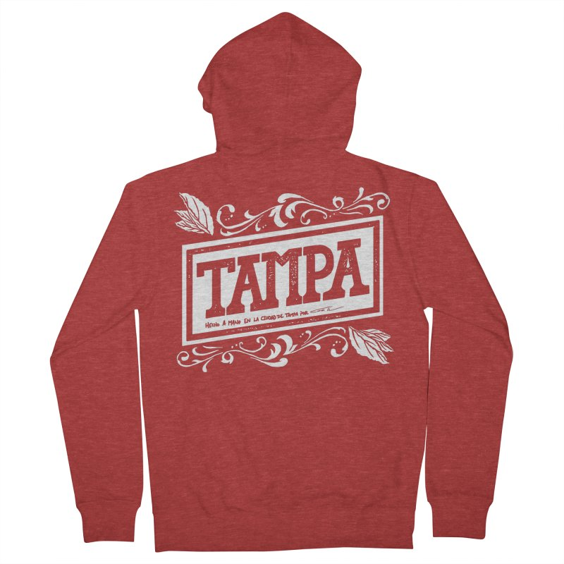 Tampa Women's Zip-Up Hoody by municipal's Artist Shop