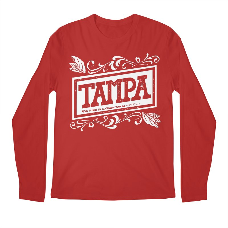 Tampa Men's Longsleeve T-Shirt by municipal's Artist Shop