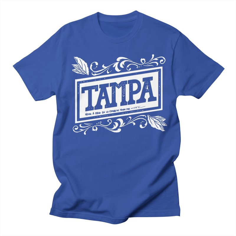Tampa Men's T-shirt by municipal's Artist Shop