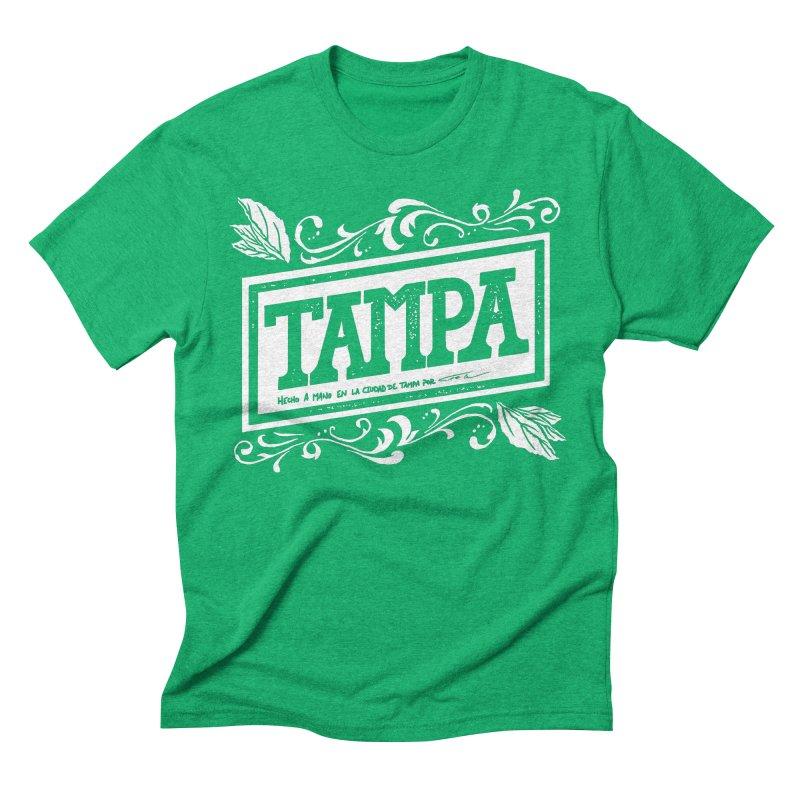 Tampa Men's Triblend T-shirt by municipal's Artist Shop