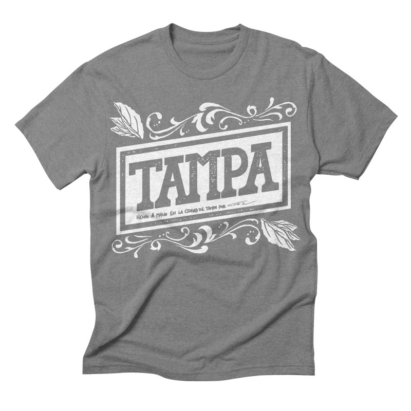 Tampa in Men's Triblend T-shirt Grey Triblend by municipal's Artist Shop