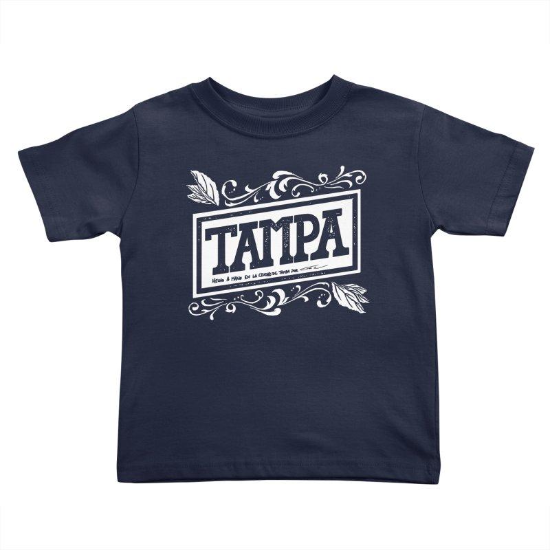 Tampa Kids Toddler T-Shirt by municipal's Artist Shop