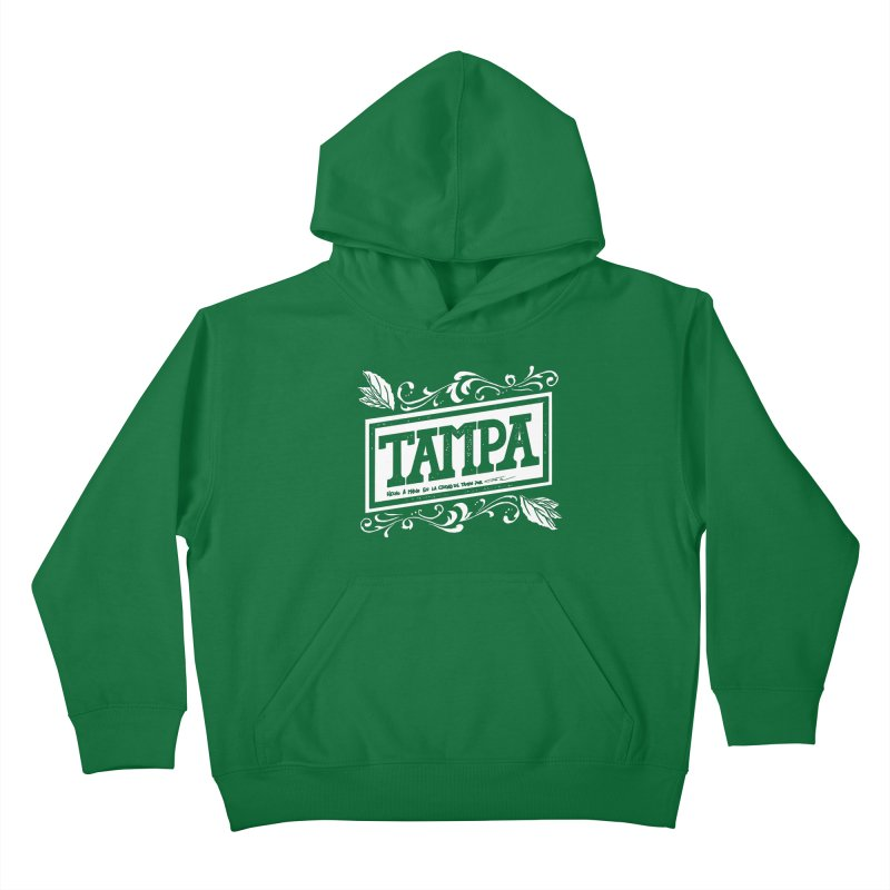 Tampa Kids Pullover Hoody by municipal's Artist Shop