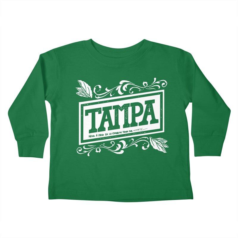 Tampa Kids Toddler Longsleeve T-Shirt by municipal's Artist Shop