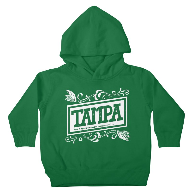 Tampa Kids Toddler Pullover Hoody by municipal's Artist Shop