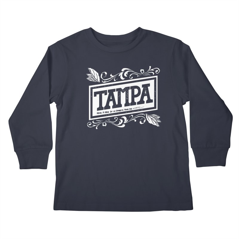 Tampa Kids Longsleeve T-Shirt by municipal's Artist Shop
