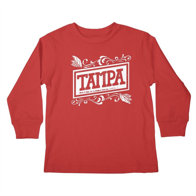 Tampa Kids Longsleeve T-Shirt by municipal's Artist Shop