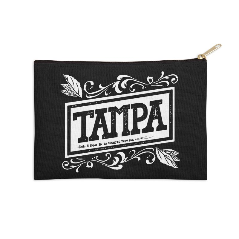 Tampa Accessories Zip Pouch by municipal's Artist Shop