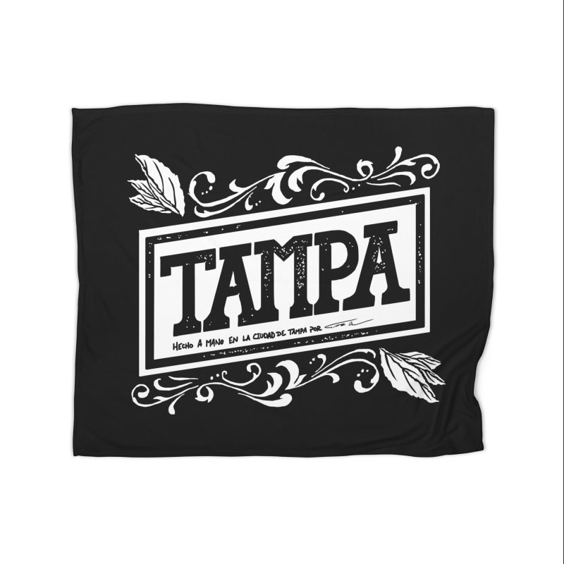 Tampa Home Blanket by municipal's Artist Shop