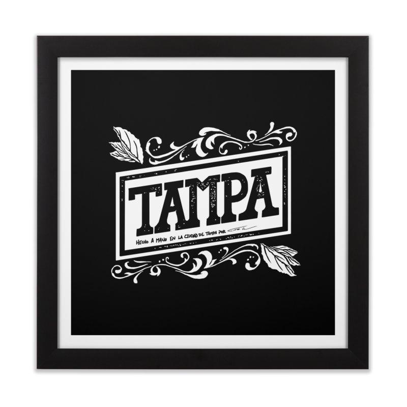 Tampa Home Framed Fine Art Print by municipal's Artist Shop