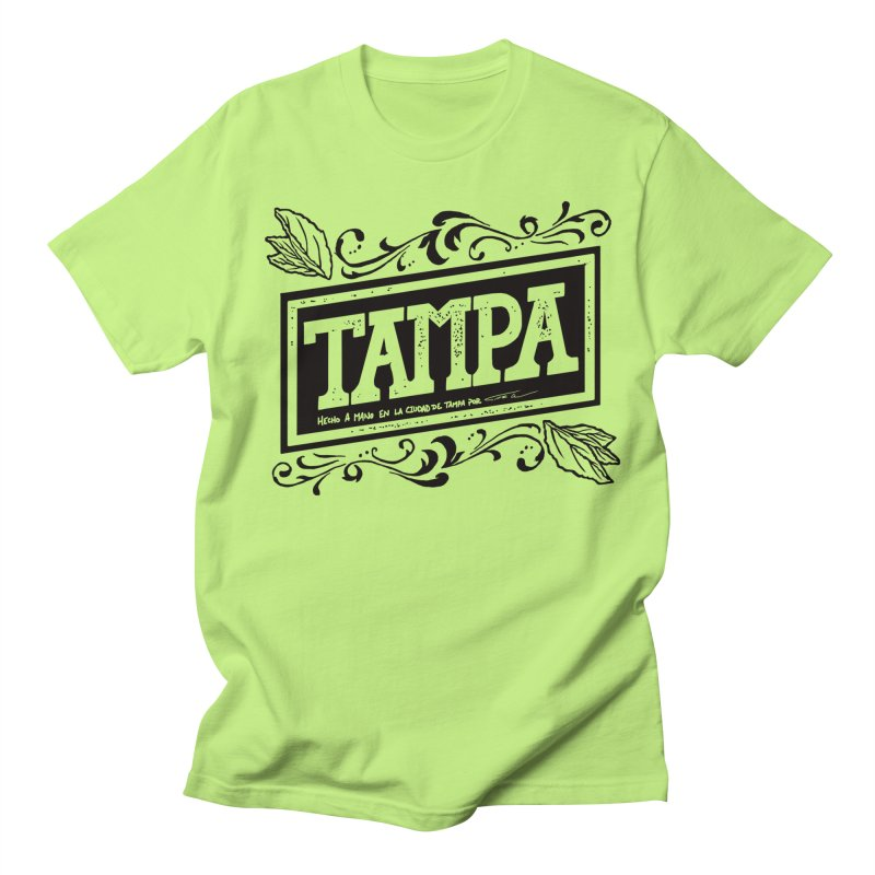 Tampa Alt Men's T-shirt by municipal's Artist Shop
