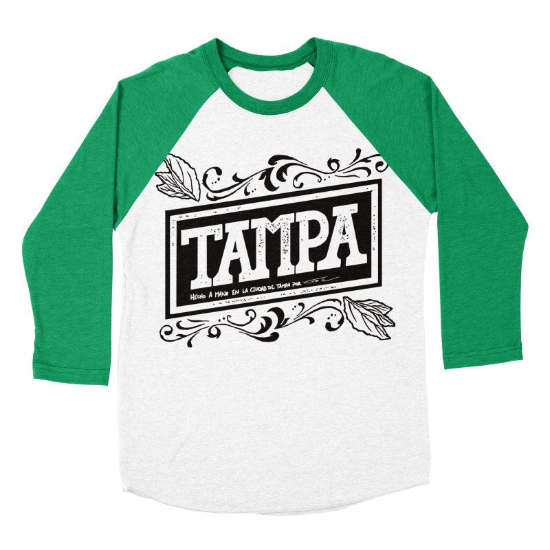 Tampa Alt Men's Baseball Triblend T-Shirt by municipal's Artist Shop