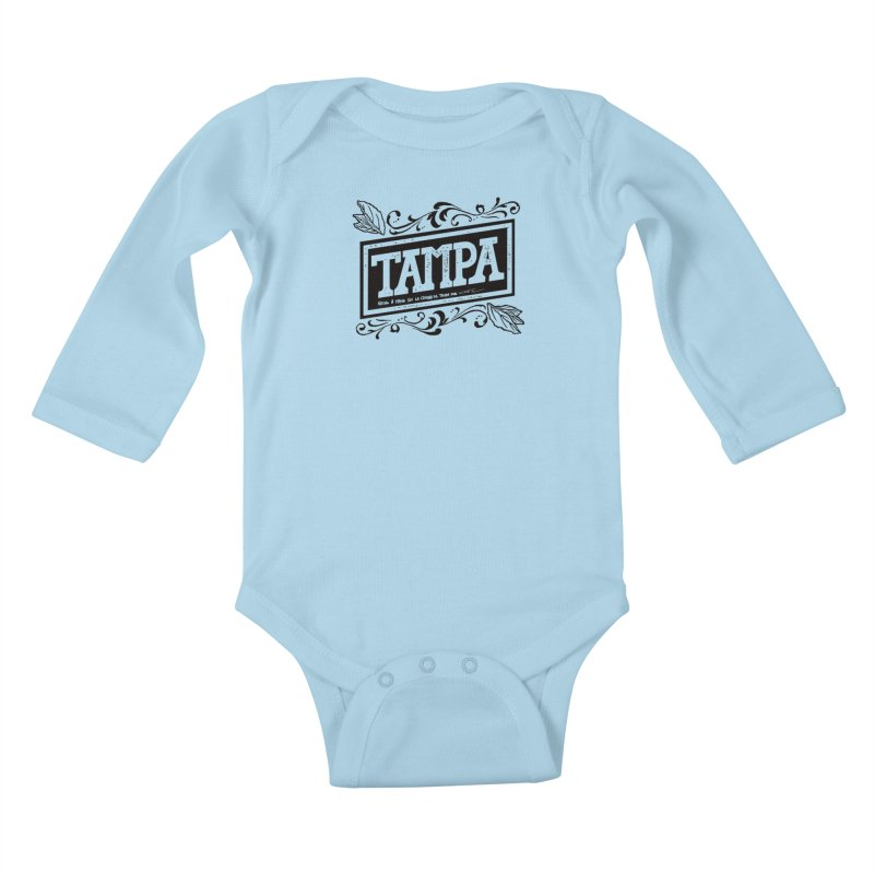Tampa Alt Kids Baby Longsleeve Bodysuit by municipal's Artist Shop