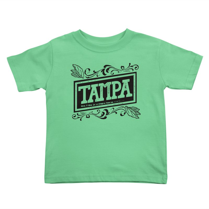 Tampa Alt Kids Toddler T-Shirt by municipal's Artist Shop