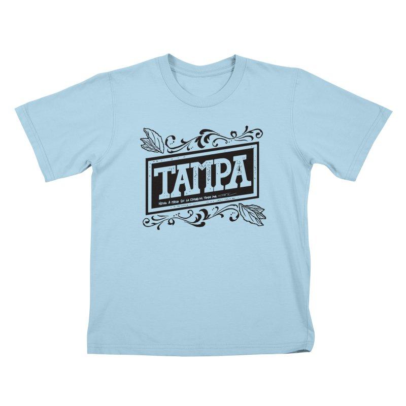 Tampa Alt Kids T-shirt by municipal's Artist Shop