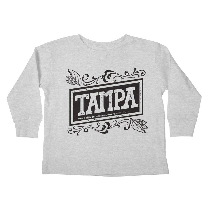 Tampa Alt Kids Toddler Longsleeve T-Shirt by municipal's Artist Shop