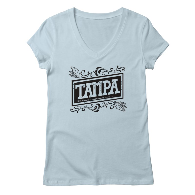 Tampa Alt Women's V-Neck by municipal's Artist Shop