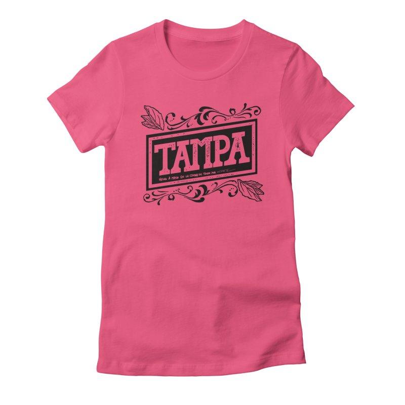 Tampa Alt Women's Fitted T-Shirt by municipal's Artist Shop