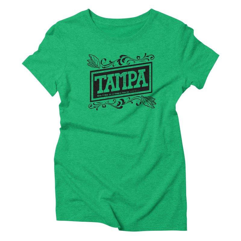 Tampa Alt Women's Triblend T-Shirt by municipal's Artist Shop