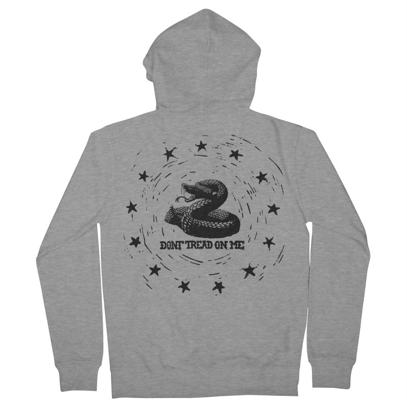 Dont Tread on Me Women's Zip-Up Hoody by municipal's Artist Shop
