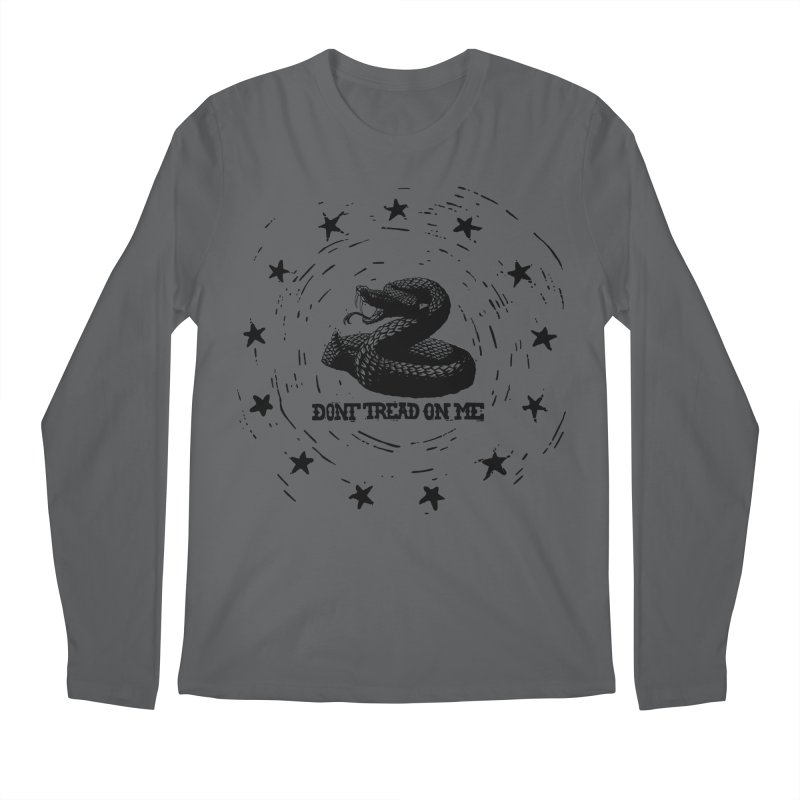 Dont Tread on Me Men's Longsleeve T-Shirt by municipal's Artist Shop