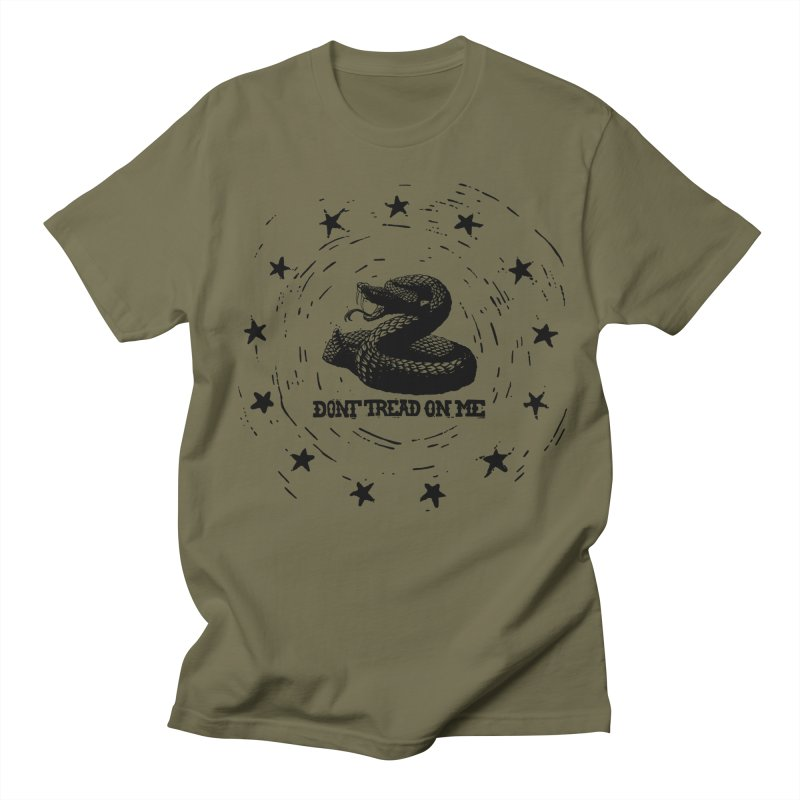 Dont Tread on Me Men's T-shirt by municipal's Artist Shop