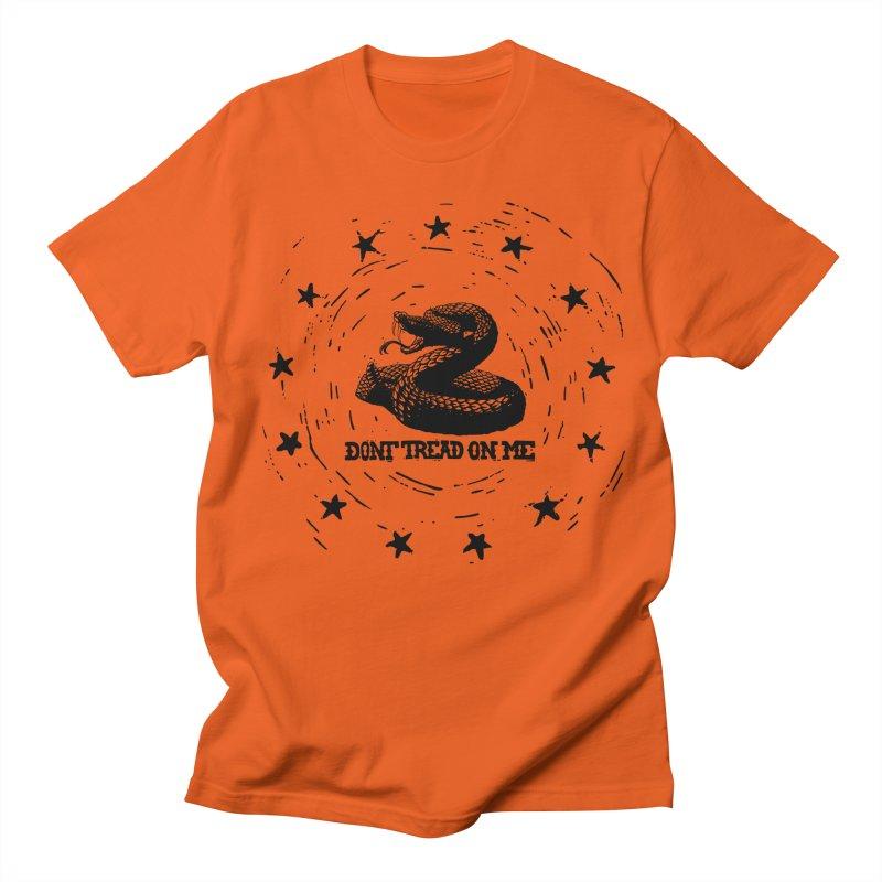 Dont Tread on Me Men's T-Shirt by municipal's Artist Shop