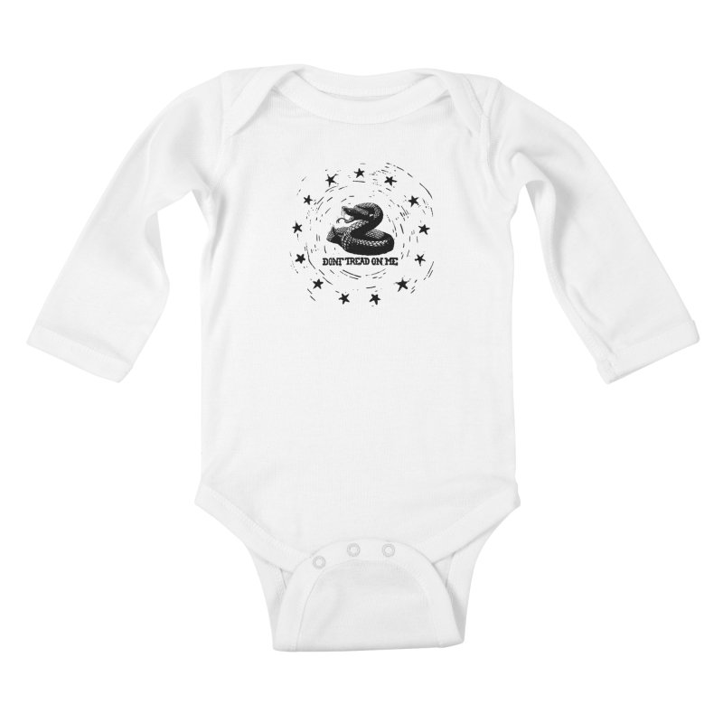Dont Tread on Me Kids Baby Longsleeve Bodysuit by municipal's Artist Shop