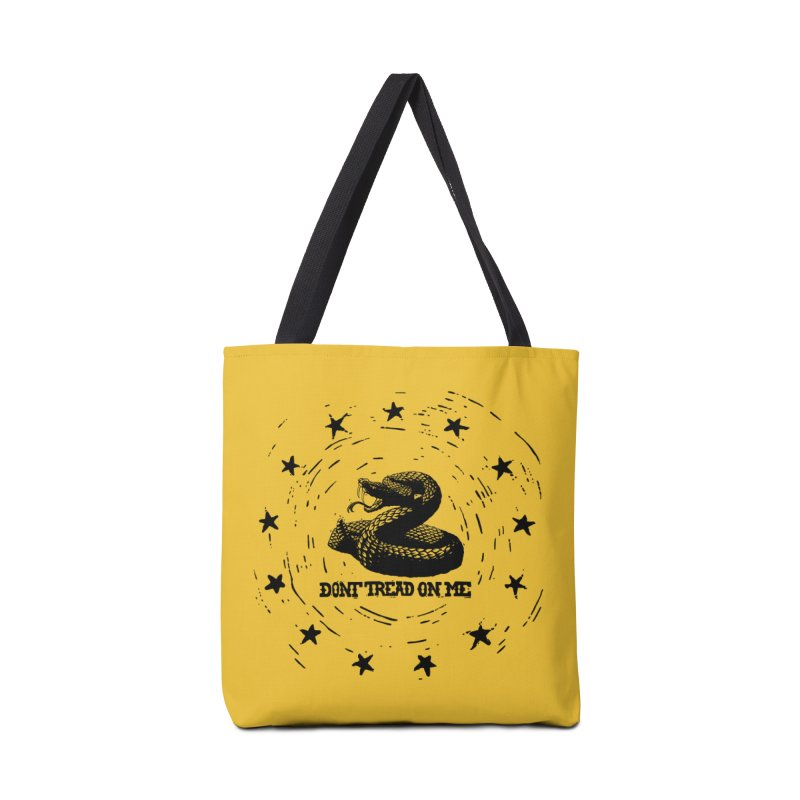 Dont Tread on Me Accessories Bag by municipal's Artist Shop
