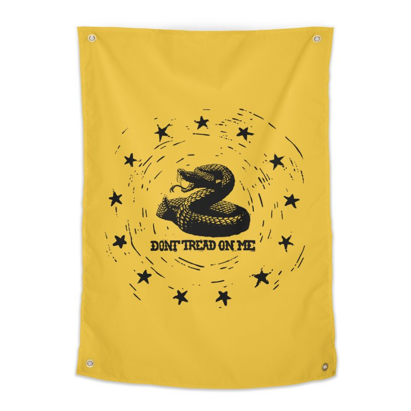 Dont Tread on Me Home Tapestry by municipal's Artist Shop
