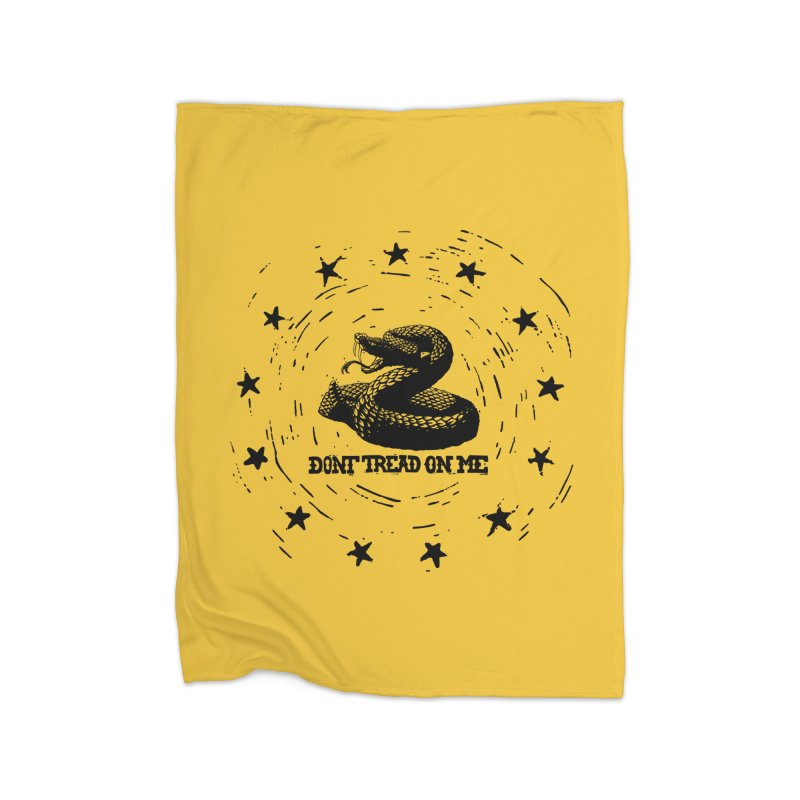 Dont Tread on Me Home Blanket by municipal's Artist Shop